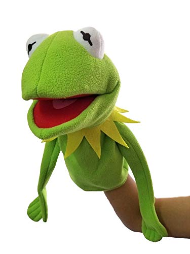Thank You New The Muppets Show Kermit Frog Puppets Hand 40cm Puppet Plush Toy - Frog Puppet Soft