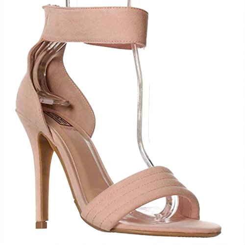 Milan Pink Signature Strap Toe Sandals Casual Open Report Womens Ankle qzUawHHEf
