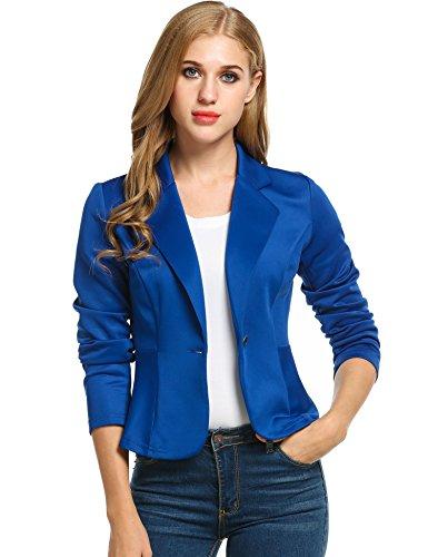 ANGVNS Casual Sleeve Blazers Jackets