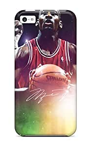 New Style 2461376K996984279 nba michael jordan chicago bulls jordan NBA Sports & Colleges colorful iPhone 5c cases