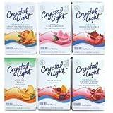クラフト クリスタルライト・ドリンクミックス 6個セット Kraft Crystal Light On the Go Drink Mix 並行輸入品