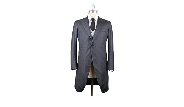 Cardi International Anthony Black Vitale Barberis Italian Wool Tuxedo Pants