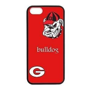 Custom NCAA Georgia Bulldogs Logos For Ipod Touch 4 Case Cover (Hard shell Laser Technology)