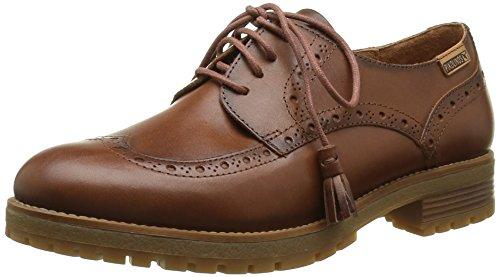 Pikolinos Womens Santander Leather Lace Up Brogue Shoe  W4j 4572