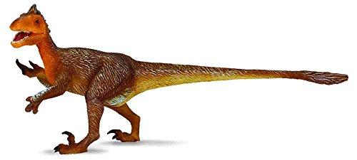 CollectA Prehistoric Life Utahraptor Toy Dinosaur Figure - Authentic Hand Painted & Paleontologist Approved Model (Claw Utahraptor)