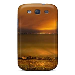 Top Quality Rugged Sunset Pictures Case Cover For Galaxy S3