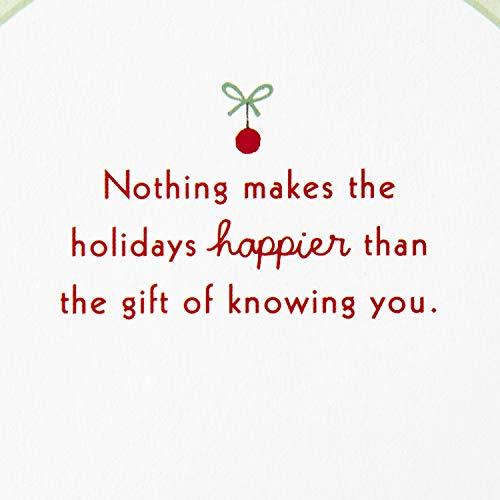 Hallmark Paper Wonder Pop Up Christmas Card Snow Globe (Woodland Creatures) Photo #4