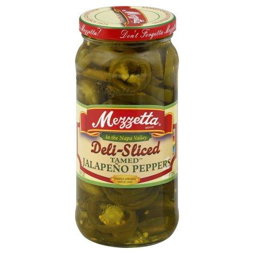 Mezzetta Jalapeno Pepper Sliced 16.0 OZ(Pack of 2)