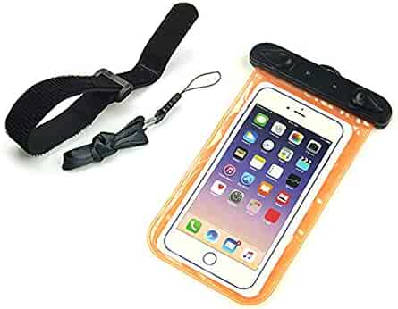 252ec3cae92e Shopping Dry Bags - Orange - iPhone 5/5S/SE or iPhone 8 Plus - Cases ...
