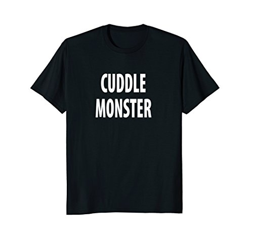 Cuddle Monster, Cuddling Shirt, Funny Couples t-shirt -