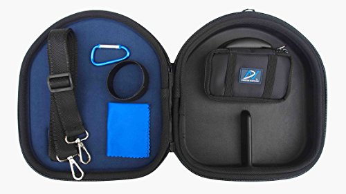 AHG Upgrade Carrying Case Compatible with Grado SR60e/60i SR80e/80i SR125e/125i SR225e/225i SR325e/325i RS1i RS1e RS2i RS2e Alessandro MS-1 PS500e, Parrot Zik 1/2/3 Beoplay H6/H7/H8 Headphones