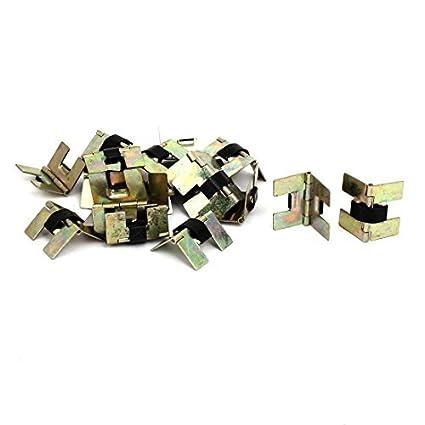 Caja de la joyería eDealMax Muebles Caja de regalo de 20 mm Longitud de las bisagras