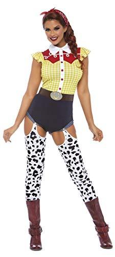 Leg Avenue Womens Giddy Up Cowgirl Costume, Multi Medium ()