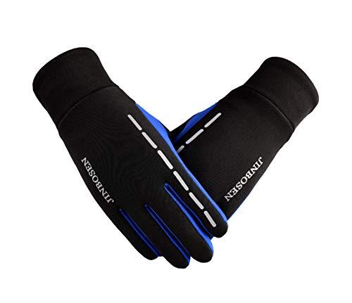 Équitation Plein De vent Cyclisme Hiver Gants Écran Bleu Coupe Étanche Femmes Tactile Air Amdxd fRTzZqgg