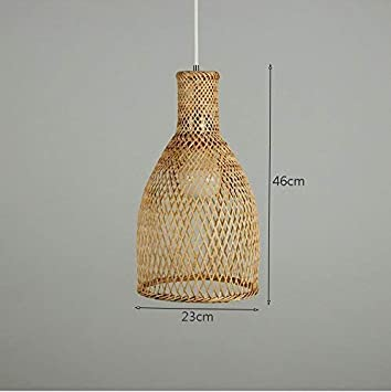 GCCI las lámparas de bambú, Luces Decorativas Salón Restaurante ...