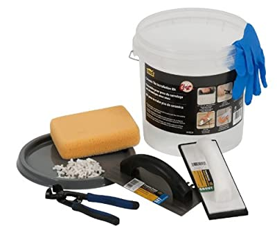 M-D Building Products 49834 Ceramic Tile Kit Bucket