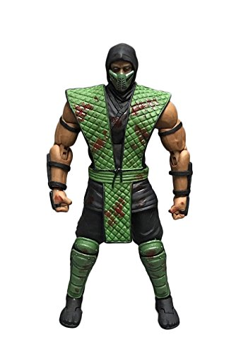 Storm Collectibles Mortal Kombat Reptile Bloody Variant Action Figure -