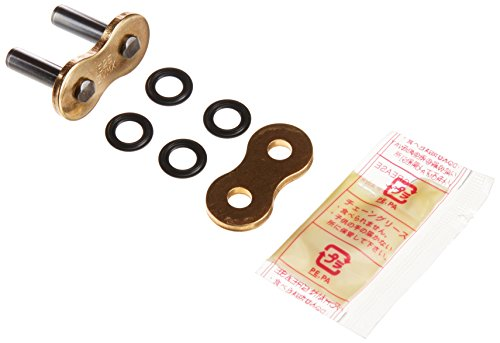 DID 525ZVMXGG-ZJ-CL Gold Rivet-Style X-Ring Chain Connecting Link ()