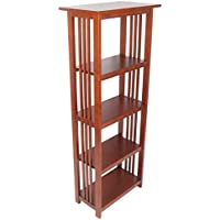Mission 60 in. Bookcase - Cherry