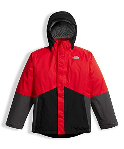 The North Face Big Boys' Boundary Triclimate Jacket - tnf red, m/10-12 by The North Face