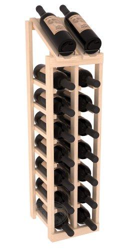 (Wine Racks America Ponderosa Pine 2 Column 8 Row Display Top Kit. Unstained)