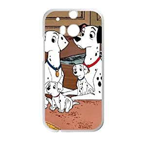 Personalized Durable Cases HTC One M8 Phone Case White Duqys 101 Dalmatians Protection Cover