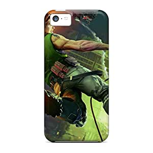 Durable Defender Cases For Iphone 5c Covers(bionic Commando 3)