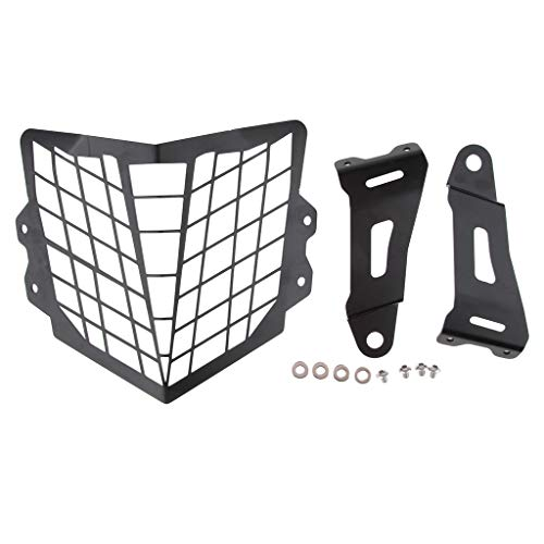(Baosity Motorcycle Headlight Protector Guard Cover for Honda CRF250L 2012-2017)