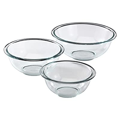 Pyrex # Smart Essentials 8-Piece Mixing Bowl Set W/Colored Lids