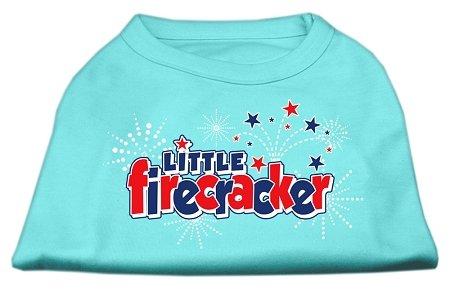Mirage Pet Products Little Firecracker Screen Print Shirts Black XXL (18)