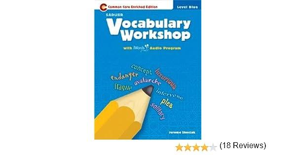 Vocabulary Workshop ©2011 Level Blue (Grade 5) Student Edition ...