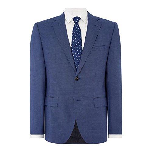 [ヒューゴボス] メンズ ジャケット&ブルゾン Textured Pin Dot Suit Jacket [並行輸入品] B0781KGGS2 42 Regular