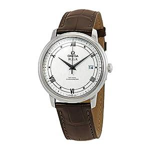Omega De Ville 424.13.40.20.02.006 - Reloj automático para Hombre, Esfera Plateada 1