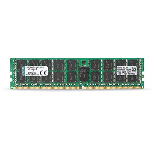Kingston Technology 16GB DDR4 2133MHz Reg ECC Workstation Memory for Select HP Compaq KTH-PL421/16G
