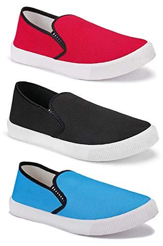Buy TYING Men's Casual Shoes (Set of 3
