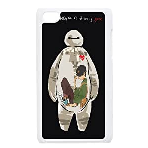 Cartoon Movie Big Hero 6 Pattern Productive Back Phone Case FOR IPod Touch 4th -Style-19