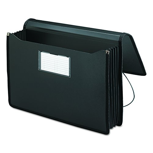 Smead Premium Poly Premium Expanding File Wallet with  Closure, 5-1/4
