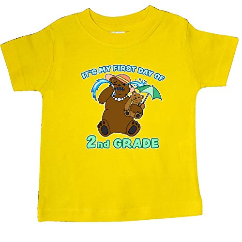 inktastic - Cute Mother Bear Family-It's My Baby T-Shirt 6 Months Yellow 36a32