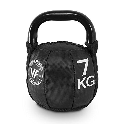 Valor Fitness SKB-15 Soft Kettlebell 15Lb, 15 lb
