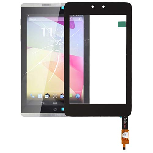 ZENGMING Repair Parts Touch Panel for HP Slate 7(Black) Phone Replacement Parts (Color : Black)