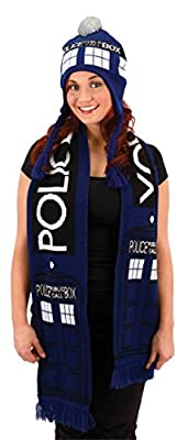 Dr. Who Tardis Laplander Hat Officially Licensed