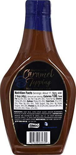 Amazon.com : CORONADO Dulce de Leche Caramel Topping 23.3oz (Cinnamon) : Grocery & Gourmet Food