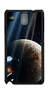 Plastic Phone Case Back Cover phone case for samsung galaxy note3 - Star Universe impact