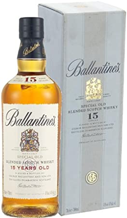 Ballantine`s 15 Years Old Blended Scotch Whisky 40% - 700 ml in Giftbox
