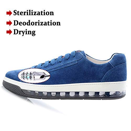 UV Shoe Sanitizer Sterilizer Deodorizer Dryer Germs Fungi Killer
