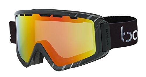 Bolle Z5 OTG Ski Goggles, Shiny Black/White