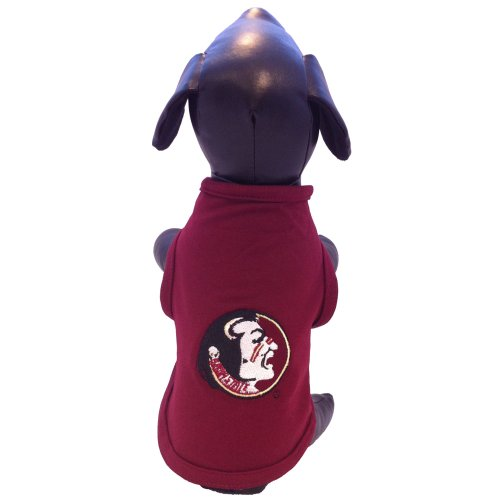 NCAA Florida State Seminoles Cotton Lycra Dog Tank Top, Small