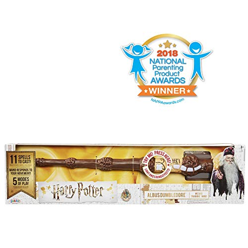 Harry Potter, Albus Dumbledore's Wizard Training Wand - 11 SPELLS TO CAST! -