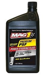 Mag 1 (62661-6PK) OEM Power Steering Fluid - 1 Quart, (Pack of 6)