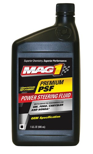 Mag 1 (62661-6PK OEM Power Steering Fluid - 1 Quart, (Pack of 6) by Mag 1